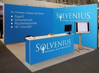Messestand Solvenius